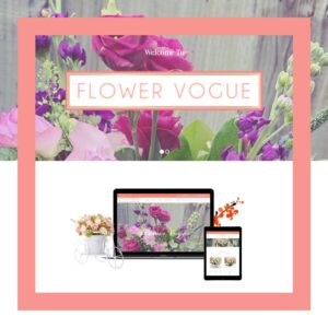 flower-vogue-website-branding