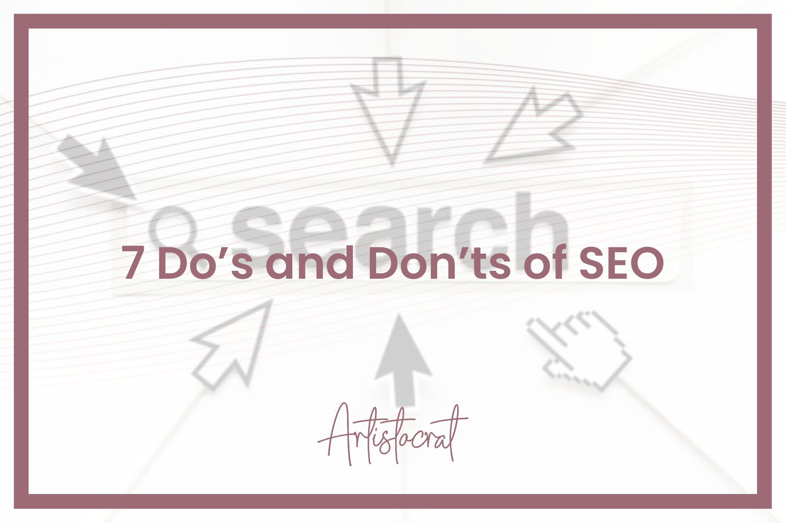 Do's-and-Don't-SEO