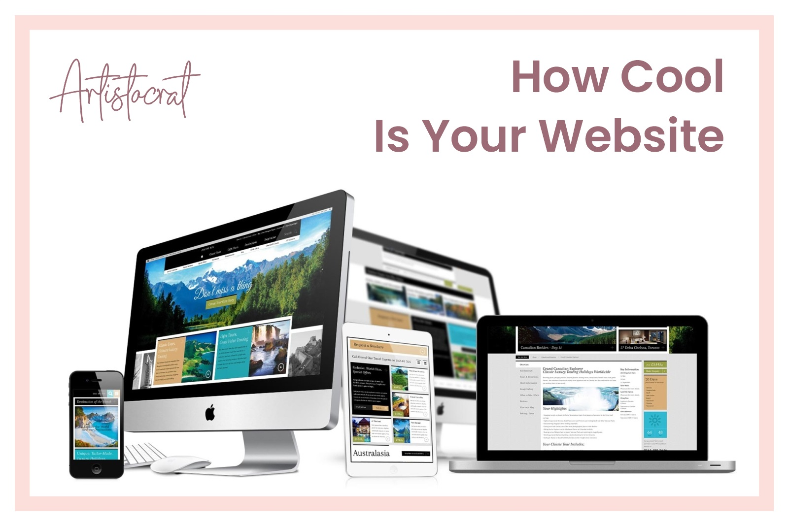 How Cool Is Your Website - Artistocrat Agency